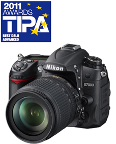 TIPA Awards 2011's Best D-SLR Advanced